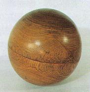 三河国報徳社の霊位「木の玉」